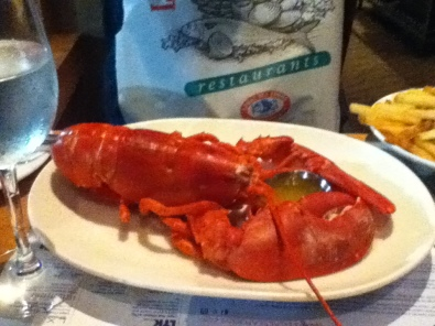 Andrea's lobster